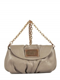 Sac bandouliere Marc Jacobs Classic Q taupe