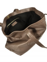Sac See By Chloe cabas Zip file leather ouvert