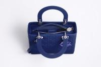 sac a main de luxe Lady dior_int-bleu